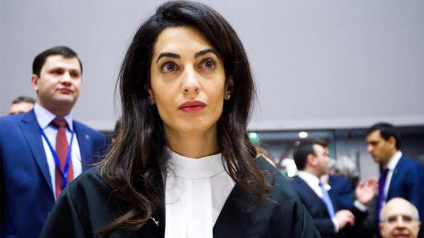 Amal Clooney, the Celebrity Lawyer
