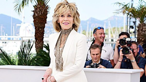 Jane Fonda Aged 80 years, has been Rocking a Rainbow Paintsuits