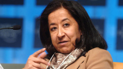 Lubna Olayan a promoter of a true meritocracy. 400x225 - Lubna Olayan, a promoter of a true meritocracy