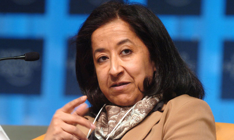 Lubna Olayan a promoter of a true meritocracy. - Lubna Olayan, a promoter of a true meritocracy