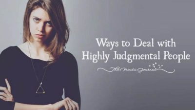 5 smart ways to deal with judgmental people
