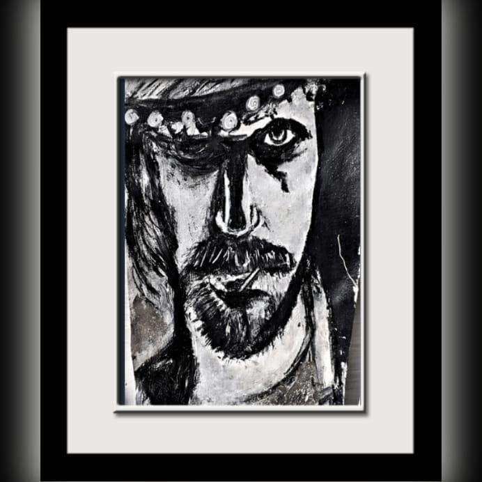 Mr. Coolness - Portrait Art Wins!!!