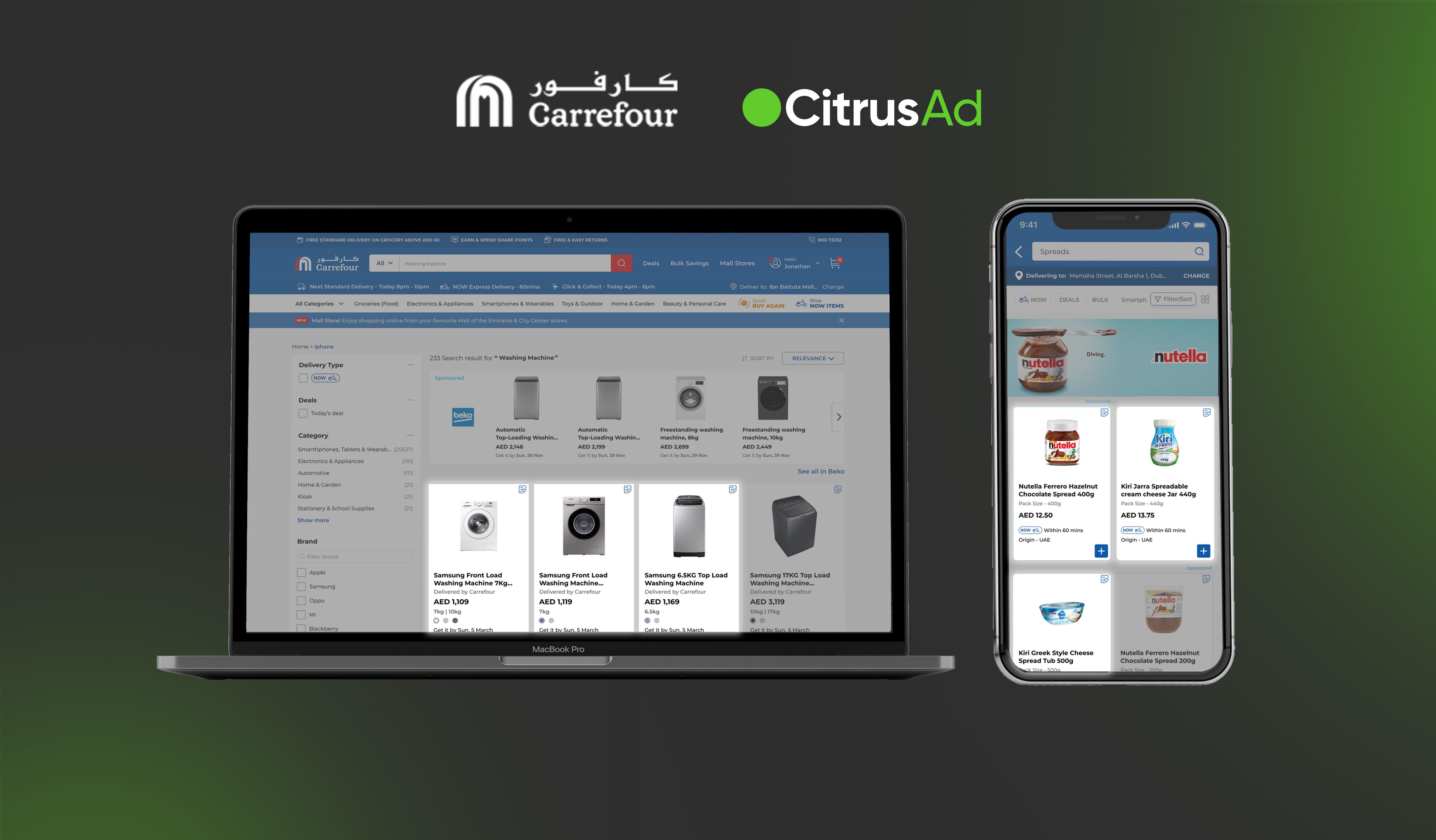 CitrusAd Carrefour platform 1627454718 - Majid Al Futtaim Chooses CitrusAd as its Retail Media Technology Platform