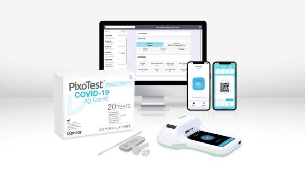 iXensor PixoTest COVID 19 Antigen Test PixoHealth Pass Admin Solution PR 600x338 - iXensor Levels Up PixoTest® COVID-19 Ag Test With the Launch of PixoHealth Data Management Platform